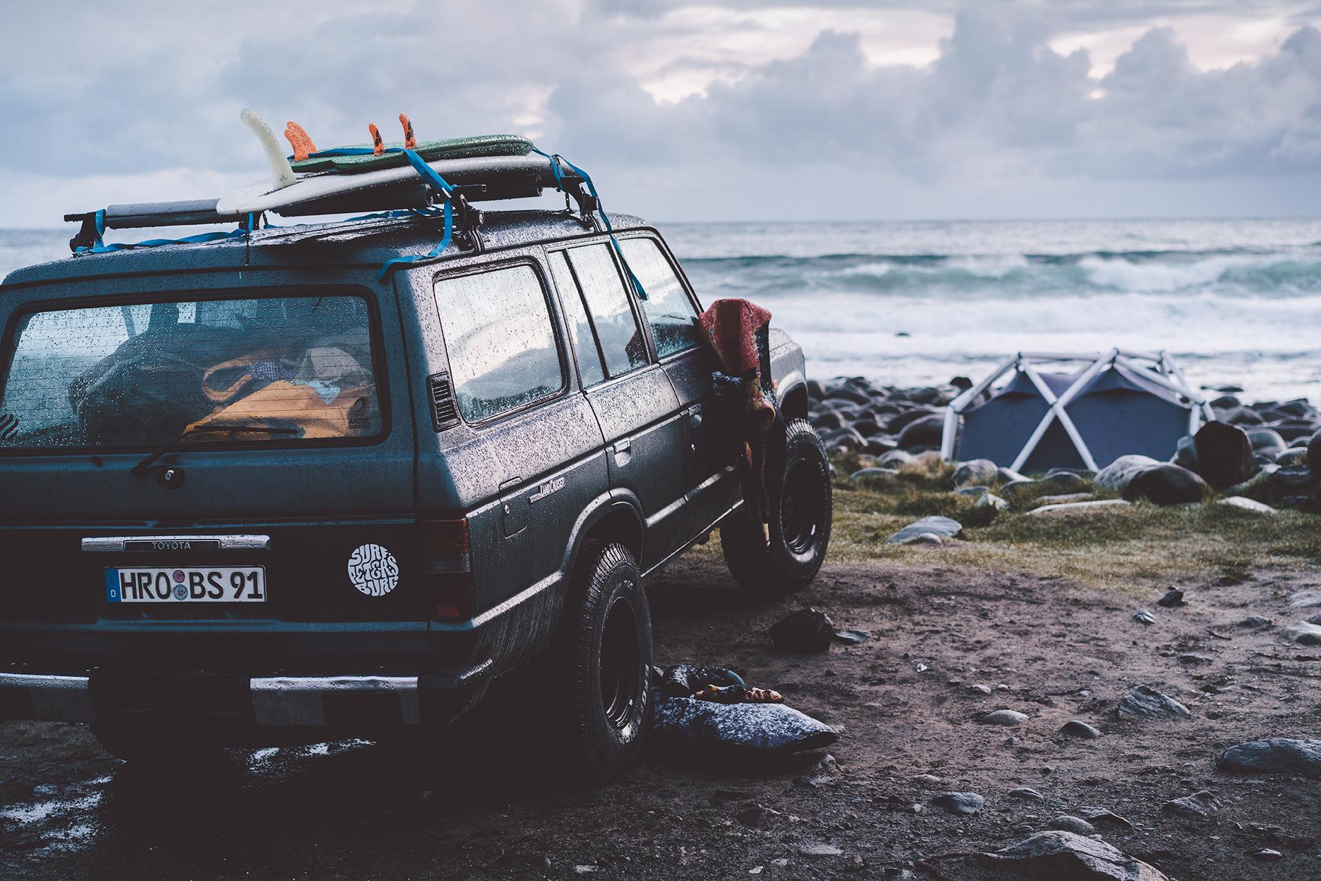 auto-surfer-equipment-strand-norwegen