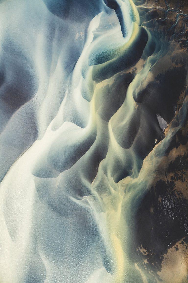 gletscher-fluss