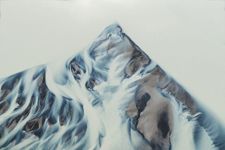 gletscher-fluss-struktur
