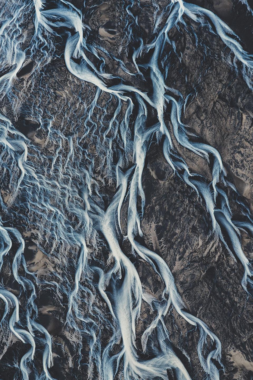 gletscherfluss-wasser-luftaufnahme