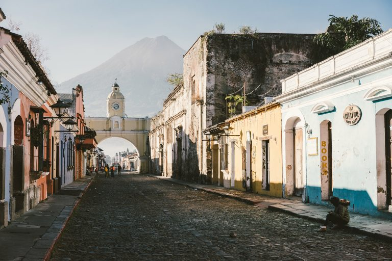 guatemala-strasse-vulkan