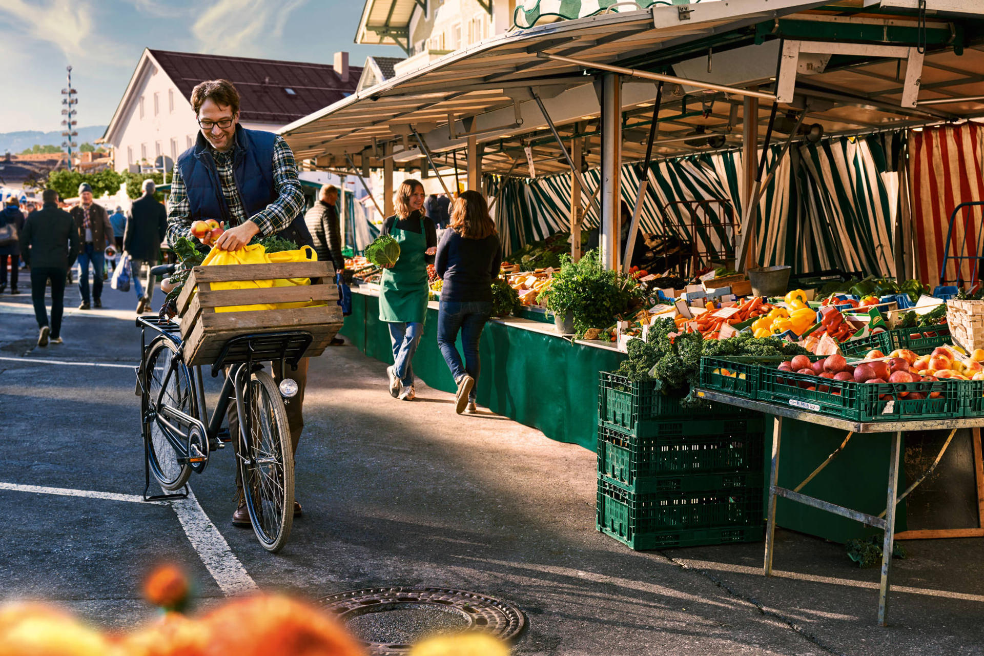 markt-vielfalt-regional-land-fahrrad
