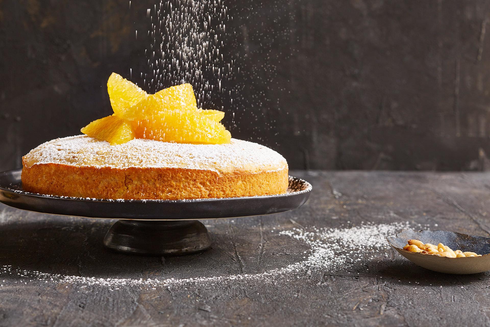 orangen-kuchen-puderzucker-leicht