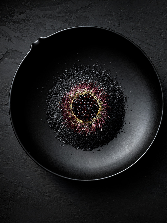 black-plate-food-aesthetic